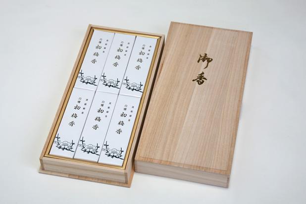 白檀初梅(桐箱) 6箱入