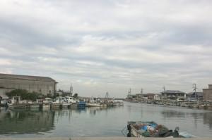 現在の江井港(2014)