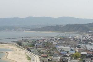 淡路市江井の風景