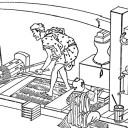 江戸時代の線香作り